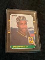 1986-87 Barry Bonds 361 Donruss Rookie Baseball Card MLB
