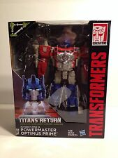Optimus Prime Action Figure Transformers Titans Return Autobot Apex Powermaster