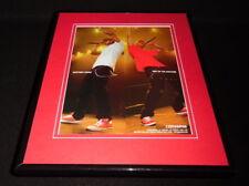 Lil Wayne Lil Twist 2011 Converse Framed 11x14 ORIGINAL Advertisement