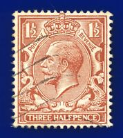 1912 SG362 1½d Red-Brown N18(1) Good Used baxg