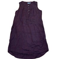 Athleta Sleeveless Dress Size 2 New NWOT Burgandy Wine E105