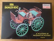 1:16 Minicraft no. 11205 Daimler-Benz 1886 Automotive history. Kit NIP