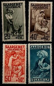 SARRE : ŒUVRES POPULAIRES, Neufs * = Cote 60 € / Lot Timbres COLONIES