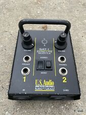 Whirlwind Sat-1 Satellite Module and Headphone Breakout box Stage Studio Podcast