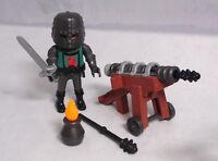PLAYMOBIL Kanonier der Falkenritter Ritter Helm Schwert Kanone Munition Feuer #2