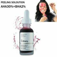 The Ordinary Anti Acne Exfoliating Face Serum AHA 30% + BHA 2% Peeling Solution