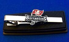 Tampa Bay Buccaneers Tie Clip Football Tie Clasp NFL Logo Tie Pin