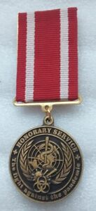 Honorary service The fight against pandemic Ukrainian medical medal