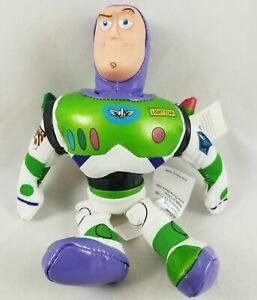 "New Disney Store Pixar Toy Story Buzz Lightyear 8"" Mini Bean Bag Plush Doll"