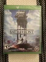 Microsoft Xbox One Star Wars Battlefront Video Game Brand New Sealed