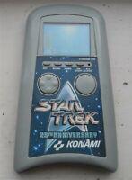 Vintage 1990 Konami STAR TREK 25th Anniversary Hand-held Electronic GAME WORKING