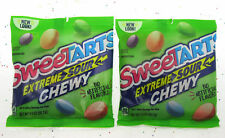Sweetart Extreme Sour Chewy 3.5 oz Bag Candy Sweet Tarts ~ Lot of 2