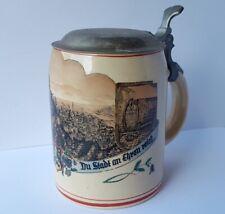 Ceramics Mug, Heidelberg, Marzi & Remy, um 1920 Al1352