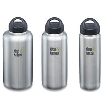 Klean Kanteen - Brush Stainless 800ml/1182ml/1900ml - Loop Wide Cap