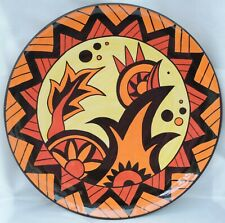 More details for lorna bailey signed limited edition 11/100 carlton ware charger - 34cm diameter