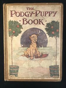 The Podgy-Puppy Book c.1920, Good Condition