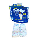 Vintage 80s 90s Huggies Pull-Ups Disposable Training Pants Sz Large Open Package