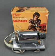 Vintage Oster 146-01 Ultra Scientific Massager Vibrator Variable Speed Chrome