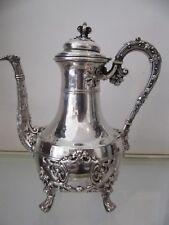 Gorgeous & rare 1900 french sterling silver coffee pot renaissance st Tetard