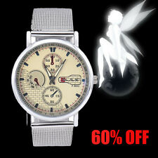 Luxury Contracted Mens Watches Analog Stainless Steel Quartz Wrist Watch Womens