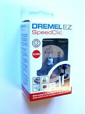 DREMEL Mandril SpeedClic Starter Set SC406 y 2 Discos de corte metal Dremel 406