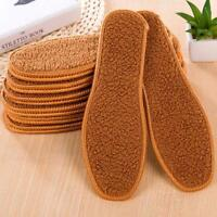 1Pair Unisex Warm Soft Winter insoles Thermal Thickened Warm Keeping Shoes Pads