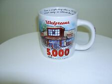 WALGREENS DRUG COMMEMORATIVE COFFEE MUG STORE 5000th RICHMOND VA  2005