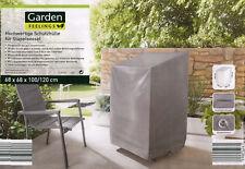 Garden Feelings Hochwertige Schutzhülle Stapelsessel 68 x 68 x 100/120 cm grau