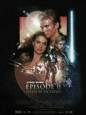 Star Wars Attack of the Clones EP2 35mm Film Cell strip very Rare var_e