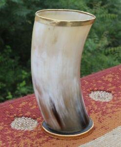 Ale beer mead viking drinking horn cup mug for boyfriend groomsmen bridesmaids
