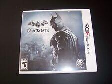 Replacement Case (NO GAME) BATMAN ARKHAM ORIGINS BLACKGATE Nintendo 3DS Original