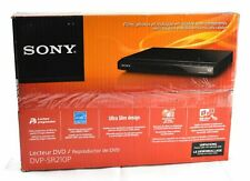 New Sony Progressive Scan Cd and Dvd Player - Black | Dvp-Sr210P