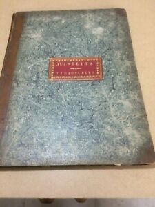 Antique music vol violoncello Mozart Bach Playel Duintetts early 1800