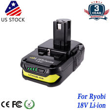 For Ryobi P102 P107 P108 One+ Lithium Compact Pack 18 volt Li-Ion P103 P105 P109