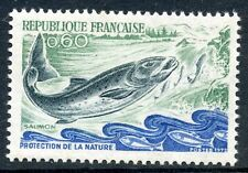 STAMP / TIMBRE FRANCE NEUF LUXE N° 1693 ** PROTECTION DE LA NATURE FAUNE SAUMON