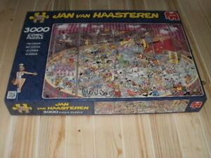 Jan Van Haasteren 'The Circus' 3000 Piece Jigsaw Puzzle - Jumbo **NEW**