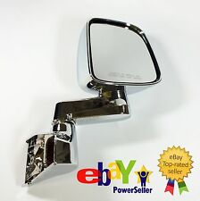 Side-Mirror Pair L+R for Jeep Wrangler 04-06, Chrome Plated without LED, JM3515C