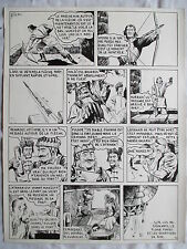 LA PRISE DE TOLSK (BILD)  SUPERBE PLANCHE FULGOR ARTIMA 1955  PAGE 10 SIGNEE
