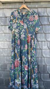 Buntes Blumenkleid GP&JBaker x H&M, 40, toll für Hochzeiten und Sommerfeste