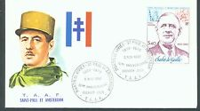 French Antarctic 1980 De gaulle sg.148 FDC