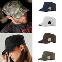 Casual Military BASEBALL CAP HAT SNAP BACK Adjustable Strap Unisex Men Women