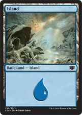 4 x Island (323/337) - Commander 2014 - Magic the Gathering MTG Basic Land