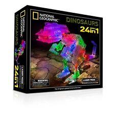 Laser pegs 1 en 24-national geographic kids dinosaure construction building set