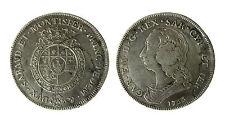 pcc1836_1) Regno di Sardegna Carlo Emanuele III Scudo 6 lire 1755 raro