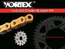 V3 Chain & Sprocket Kit Gold SX Chain 520 15/45 Hardcoat Aluminum Vor. CKG6276