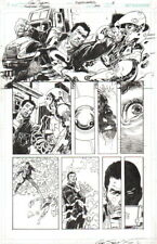 DAN JURGENS/ BILL SIENKIEWICZ 2016 SUPERMAN, FLASH ORIGINAL ART-FREE SHIPPING! Comic Art
