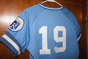Vintage Appleton Foxes 80's baseball jersey Kansas City Royals Minor league team