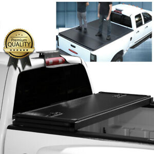 For 1999-2018 Ford F250 F350 Super Duty 6.5 Ft Bed Hard Tri-Fold Tonneau Cover