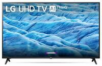 "LG 43UM7300 43"" Class 4K Smart Ultra HD TV w/ AI ThinQ, Google Assistant & Alexa"