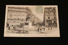 PARIS STATUE LOUIS XIV RUE ETIENNE MARCEL 1905 R1343